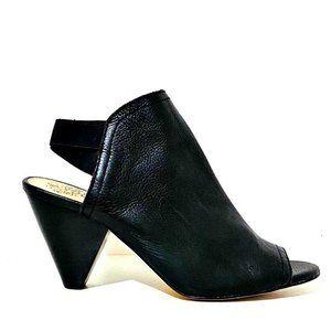 Vince Camuto Edora Heels Black Calf Leather